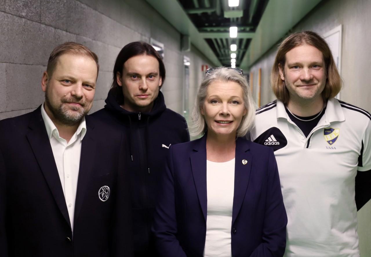 Vaasan Palloseura Ja Vasa IFK Historialliseen Yhteistyöhön